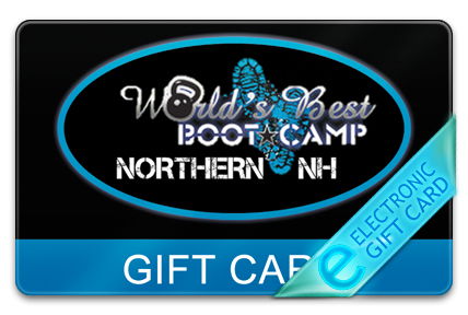 World's Best Boot Camp E-Gift Card